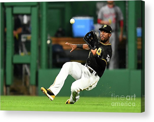 People Acrylic Print featuring the photograph Starling Marte and Anthony Rendon by Joe Sargent