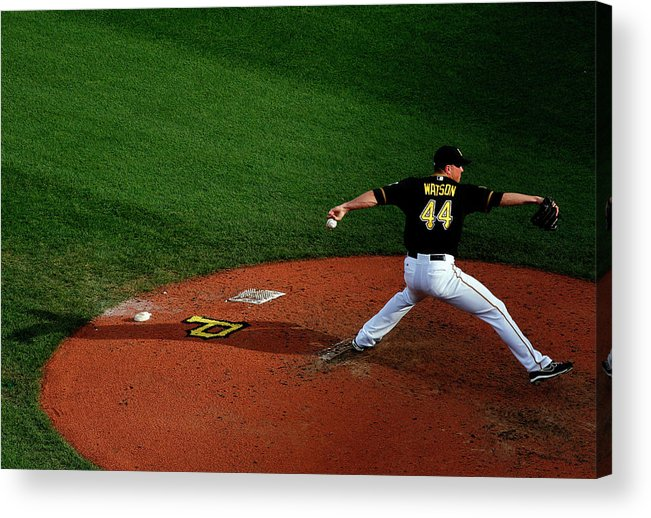 Professional Sport Acrylic Print featuring the photograph Tony Watson by Justin K. Aller