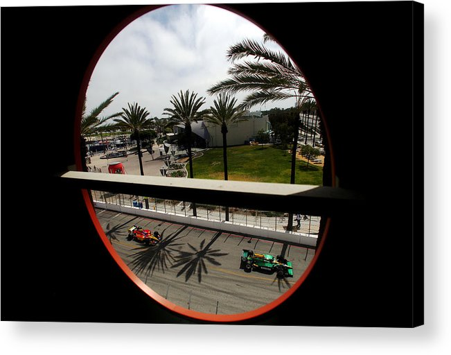 California Acrylic Print featuring the photograph Toyota Grand Prix of Long Beach - Day 3 by Donald Miralle