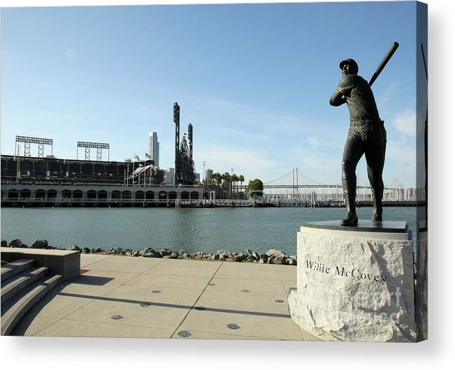 San Francisco Acrylic Print featuring the photograph Willie Mccovey by Icon Sports Wire