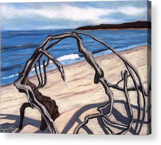 Acrylic Print featuring the painting Arch by Ingrid Torjesen