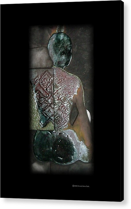 Print Acrylic Print featuring the ceramic art Ritual Transformation by Bates Clark