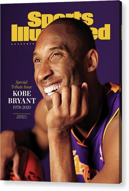 Event Acrylic Print featuring the photograph Kobe Bryant 1978 - 2020 Special Tribute Issue Sports Illustrated Cover by Sports Illustrated