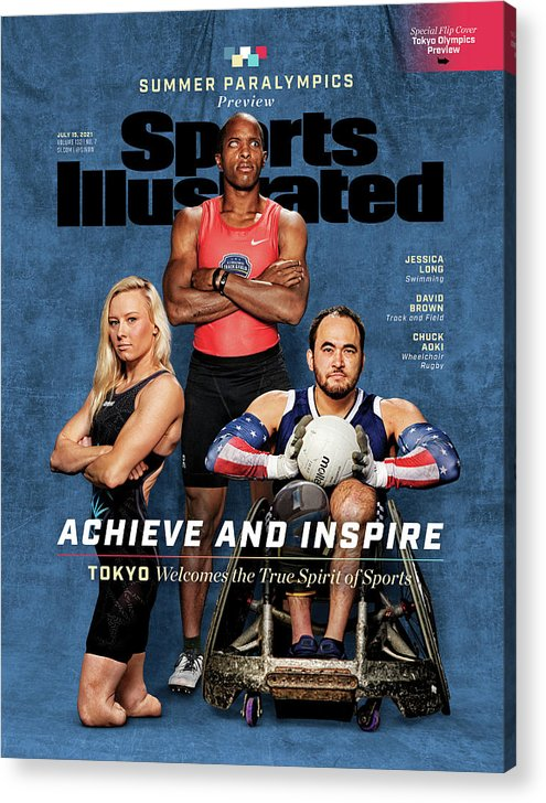 2020 Summer Olympics Preview Issue Cover Acrylic Print by ...