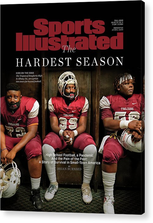 X163367_tk_2_2602cov Acrylic Print featuring the photograph The Hardest Season by Sports Illustrated