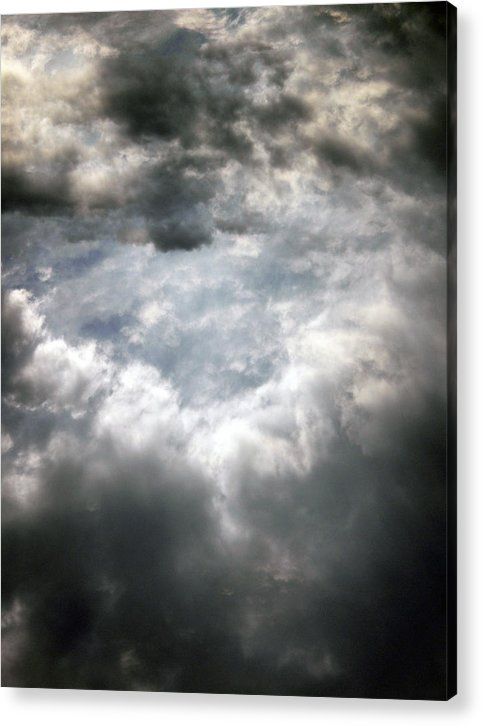 Sky Acrylic Print featuring the photograph Sky1 by Mikael Gambitt