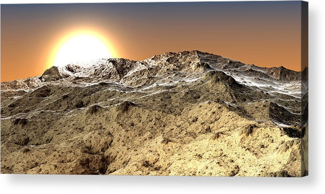 Fine Art Acrylic Print featuring the photograph Arid by Kevin Trow