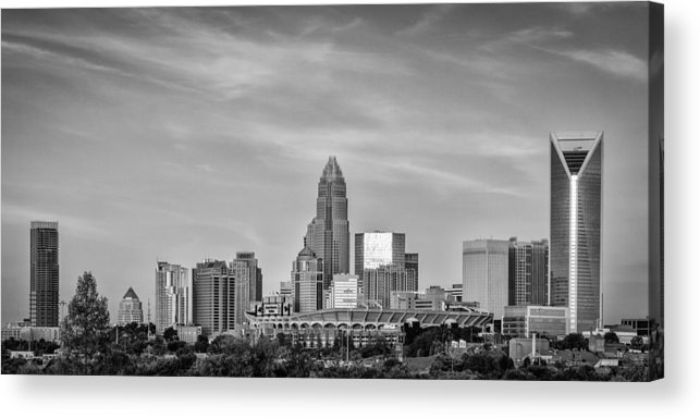 Charlotte Acrylic Print featuring the photograph Charlotte Chrome by Brian Young