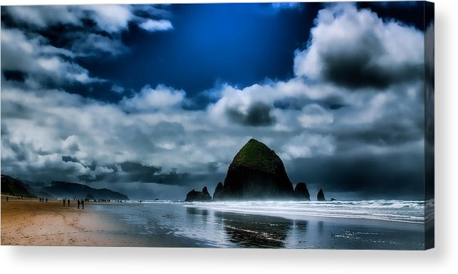 Cannon Beach Acrylic Print featuring the photograph Haystack Rock IIi by David Patterson