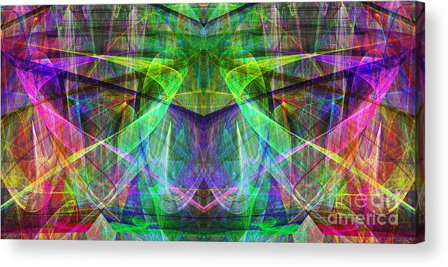 Fractal Acrylic Print featuring the photograph Parallel Universe Ap130511-22 by Wingsdomain Art and Photography