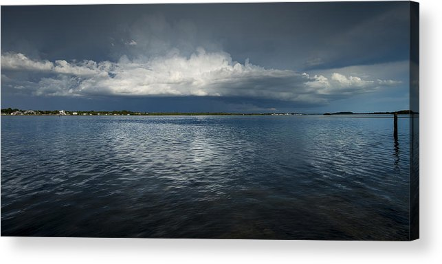 Storm Acrylic Print featuring the photograph Rain On The Way by Russ Burch