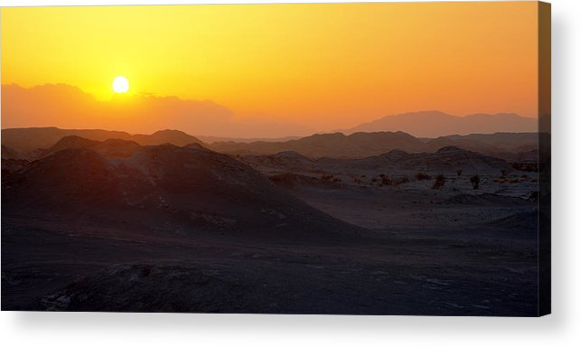 Sunset Acrylic Print featuring the photograph Shadows by Chad Dutson