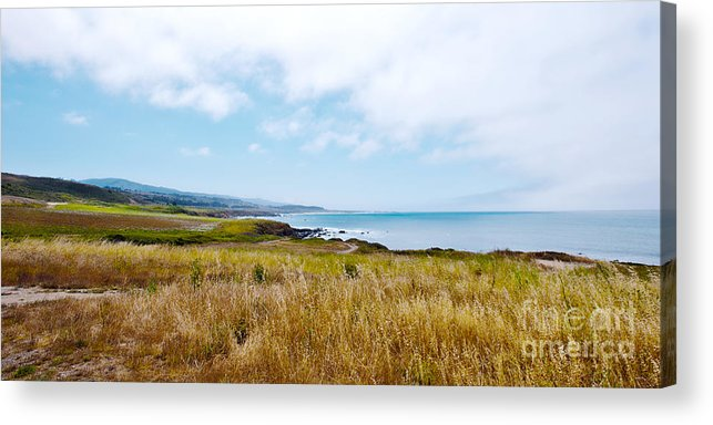 California Pacific Coast Highway Acrylic Print featuring the photograph California Pacific Coast Highway - Forever Summer by Artist and Photographer Laura Wrede