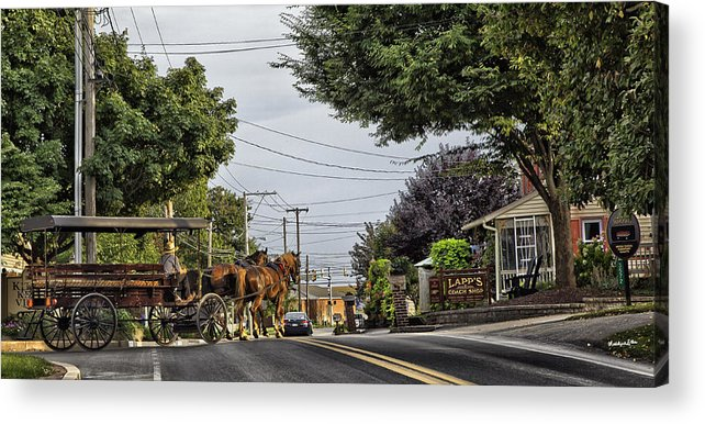Amish Acrylic Print featuring the photograph Closed On Sundays 2 - Amish Country by Madeline Ellis