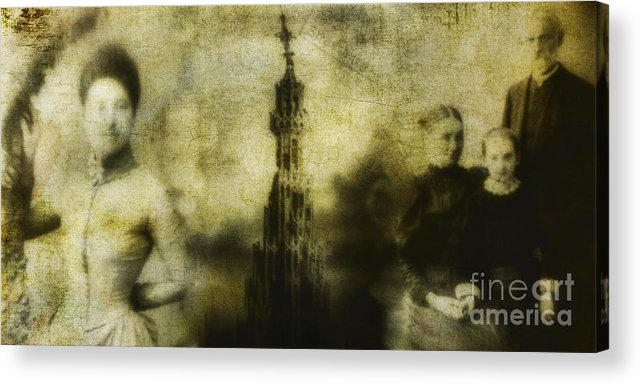 People Acrylic Print featuring the photograph Missing by Andrew Paranavitana