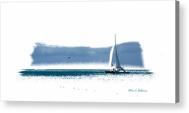 Ocean Acrylic Print featuring the photograph Turks 44 by Allan Rothman