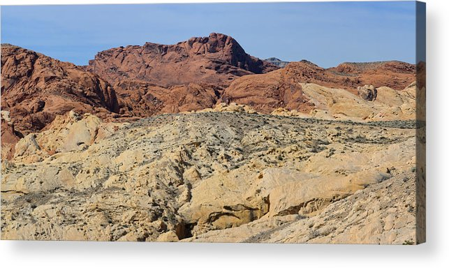 1x2 Acrylic Print featuring the photograph Valley Of Fire 4 Of 4 by Gregory Scott