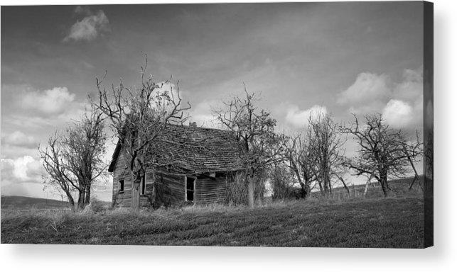 Barnwood Acrylic Print featuring the photograph Vintage Farm House by Steve McKinzie