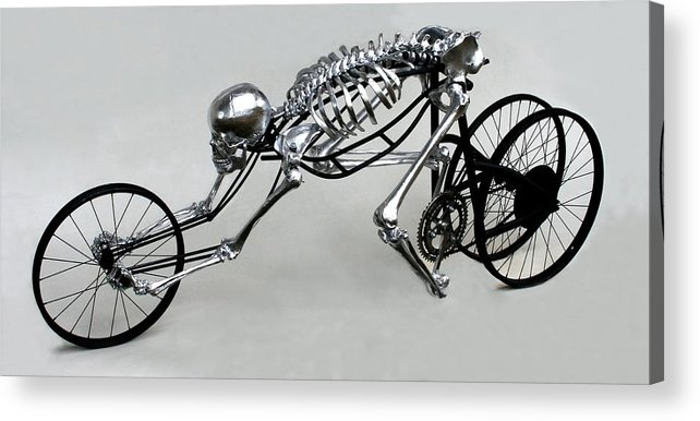 Bio-cycle Acrylic Print featuring the sculpture Bio Cycle by Jud Turner
