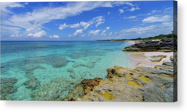 Chad Dutson Acrylic Print featuring the photograph Color And Texture by Chad Dutson