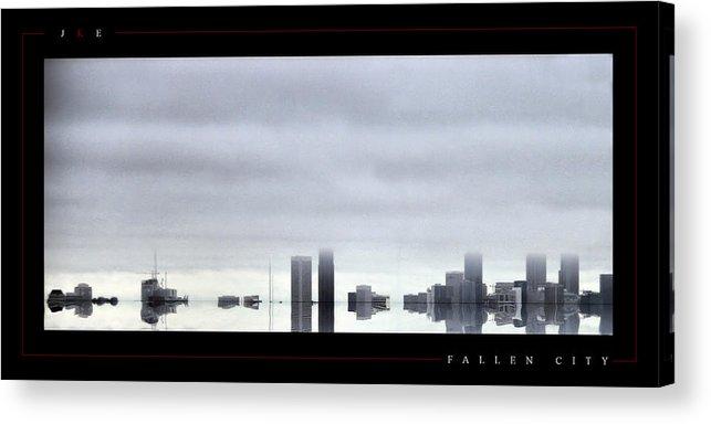 Atlanta Acrylic Print featuring the photograph Fallen City by Jonathan Ellis Keys