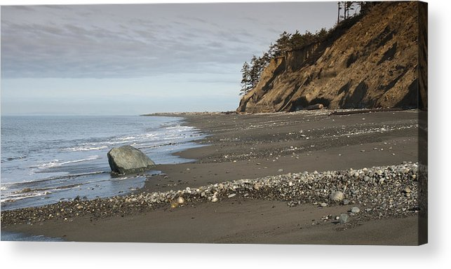 Beach Acrylic Print featuring the photograph Ocean Front View by Chad Davis