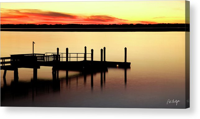 Canvas Acrylic Print featuring the photograph Silent Night by Phill Doherty