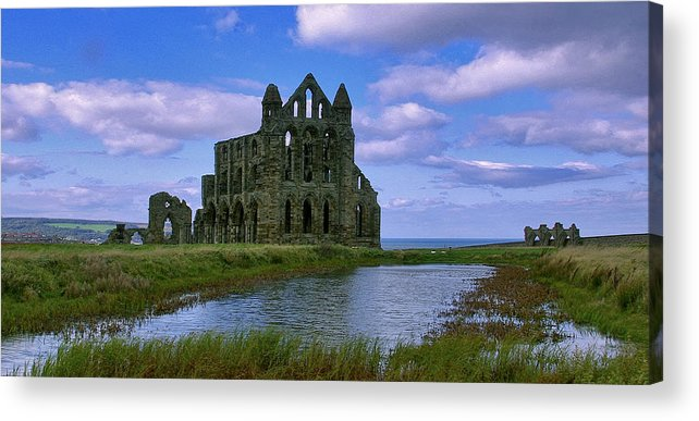 Whitby Acrylic Print featuring the photograph Whitby Abbey by Trevor Kersley