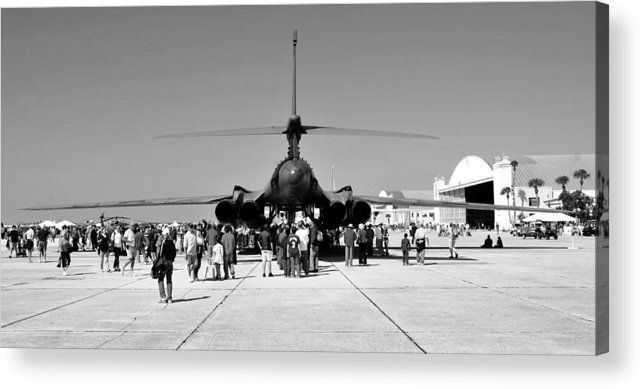 Airshow Acrylic Print featuring the photograph Airshow by David Lee Thompson