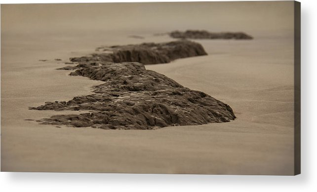 Landscape Acrylic Print featuring the photograph Stoned by Mario Celzner