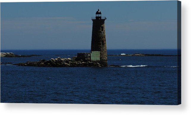 Whaleback Acrylic Print featuring the photograph Whaleback Light by Mim White
