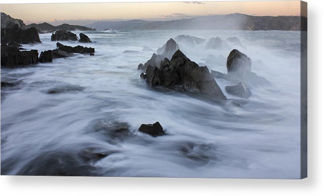 Nature Photos Acrylic Print featuring the photograph Motion Ocean by Paul Maples