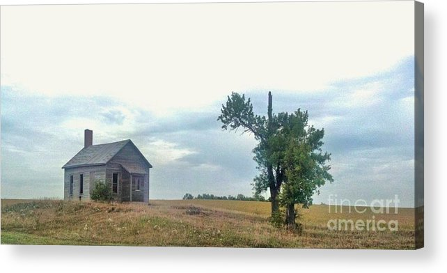 Landscape Acrylic Print featuring the photograph We Belong Together by Todd Androy