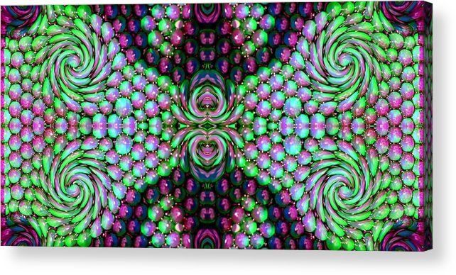 Australia Acrylic Print featuring the photograph Bewitched Pattern Three by Zazl Art