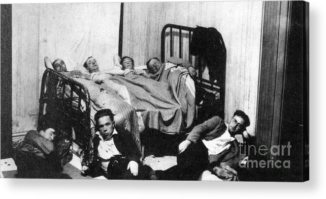 1930 Acrylic Print featuring the photograph Canada: Great Depression, 1930 by Granger