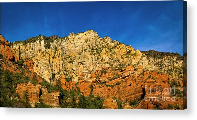 Jon Burch Acrylic Print featuring the photograph Colors Of The Southwest by Jon Burch Photography