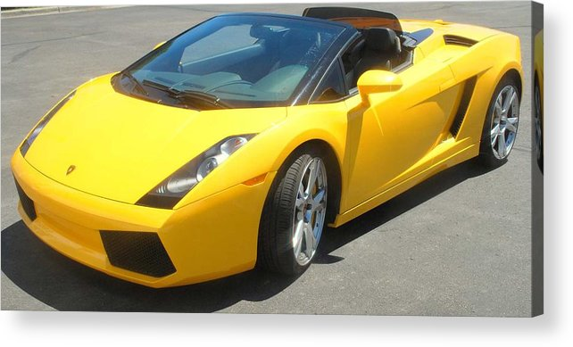 Car Acrylic Print featuring the photograph Dream Car by Margaret Fortunato