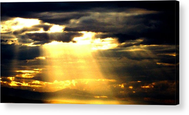 Inspirational Acrylic Print featuring the photograph Faith by James Harper