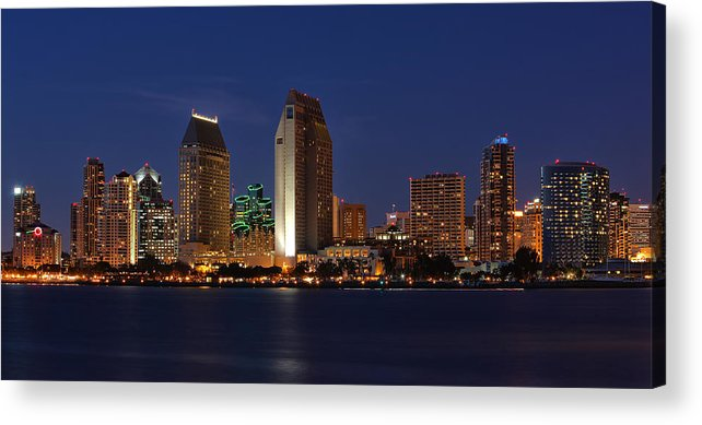 San Diego Acrylic Print featuring the photograph San Diego America's Finest City by Larry Marshall