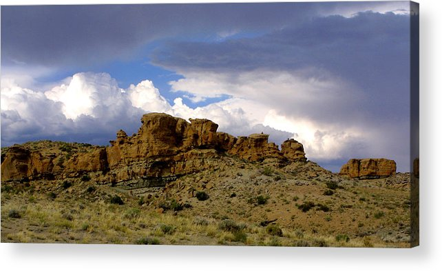 West Acrylic Print featuring the photograph Somewhere Out West by Ralph Perdomo