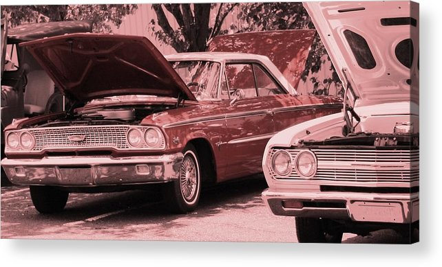 Car Acrylic Print featuring the photograph Hot Rod by Lisa Johnston