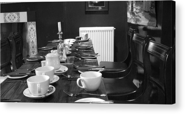 Breakfast Acrylic Print featuring the photograph English Breakfast by Aaron Evans