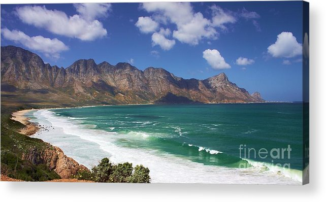 South Africa Acrylic Print featuring the photograph False Bay Drive by Jeremy Hayden