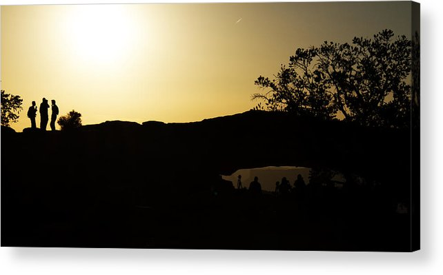 Sunrise Acrylic Print featuring the photograph Getting The Shot by Debby Richards