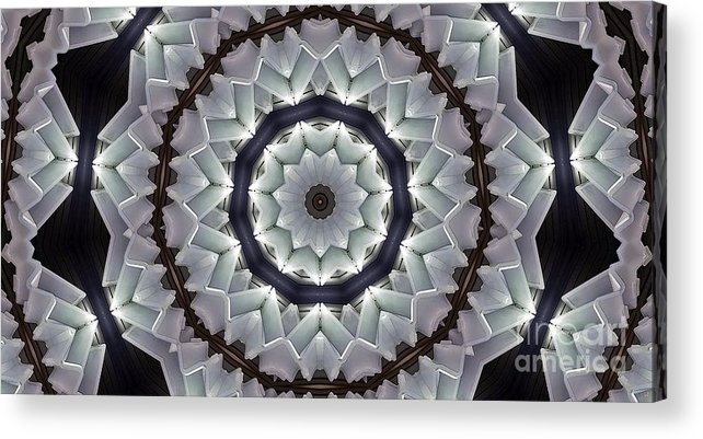 Kaleidoscope Acrylic Print featuring the photograph Kaleidoscope 63 by Ron Bissett