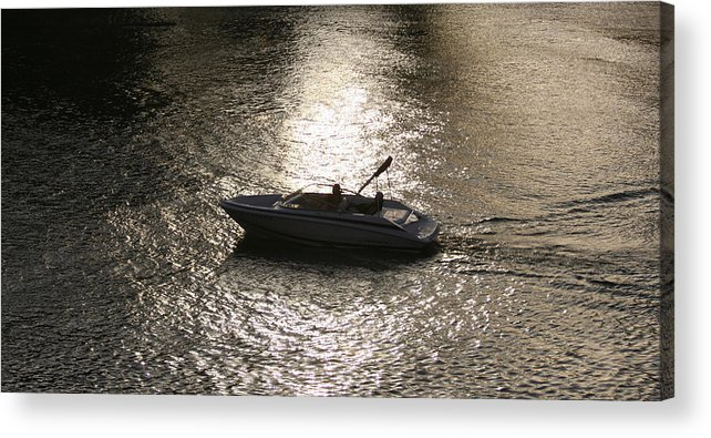 Pacific Acrylic Print featuring the photograph Peaceful Bliss by Holly Ethan