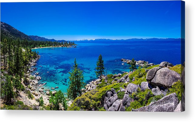 America Acrylic Print featuring the photograph Lake Tahoe Summerscape by Scott McGuire