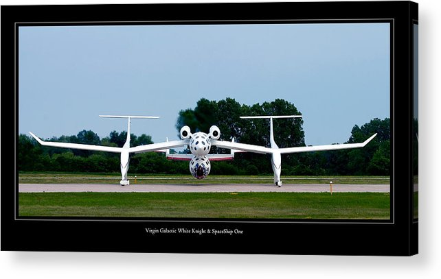 3scape Acrylic Print featuring the photograph White Knight by Adam Romanowicz
