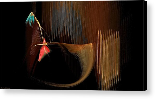 Coffee Acrylic Print featuring the painting Ranna Kava by Shan Peck