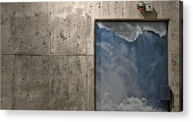 Security Acrylic Print featuring the photograph Vip Sky Lounge by Mark Ross